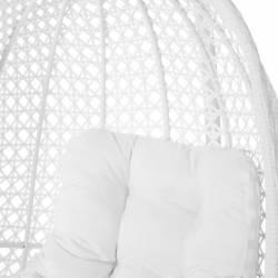 Sillón colgante blanco con soporte Todos los Productos  LK82981