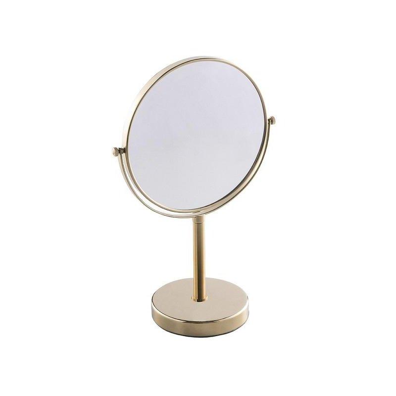 Espejo de aumento con pie Dorado Espejos de Aumento JVD JV8661515