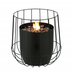 Fuego decorativo Basket negro Fuegos de Jardín BUTSIR COSI0008