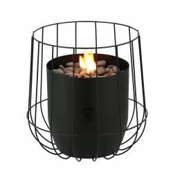 Fuego sobremesa Basket negro Fuegos de Jardín BUTSIR COSI0008
