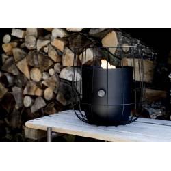 Fuego decorativo Basket negro Fuegos de Jardín  BUCOSI0008