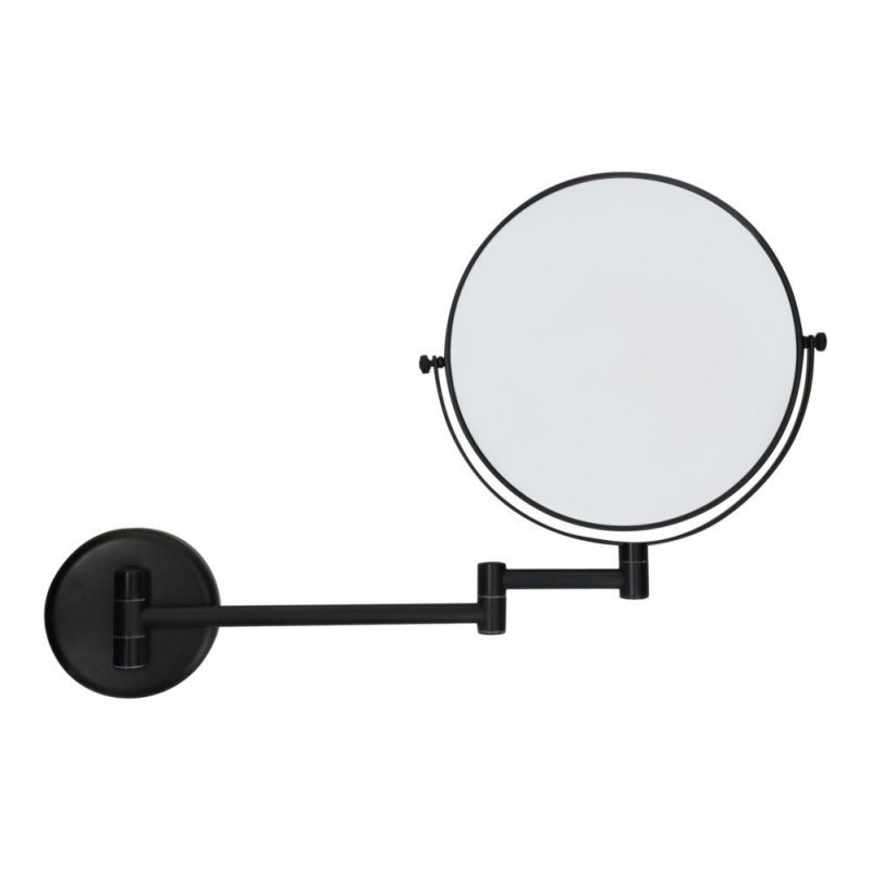 Espejo de aumento Negro Mate mural Espejos de Aumento JVD JV8661687