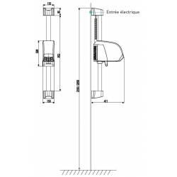 Secador de pelo piscina Neptune Blanco Secadores para piscina JVD JV8221405