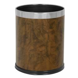 Papelera Bambú 10L Papeleras Habitación JVD JV8991088