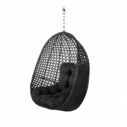 Sillón colgante jardín negro Muebles Chill Out  LK127361