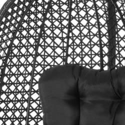Sillón colgante jardín negro Sillas Colgantes  LK127361