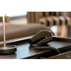 Secador de Pelo plegable Lineo negro Secadores con Cable JVD JV8221330