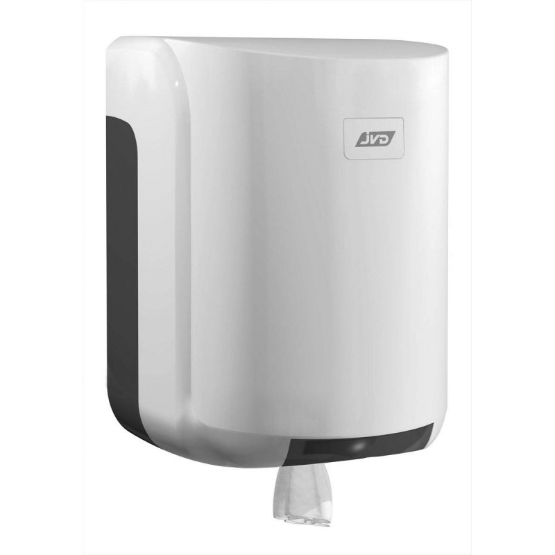 Dispensador papel mecha blanco JVD cleanline Dispensadores Papel Toalla JVD JV899605