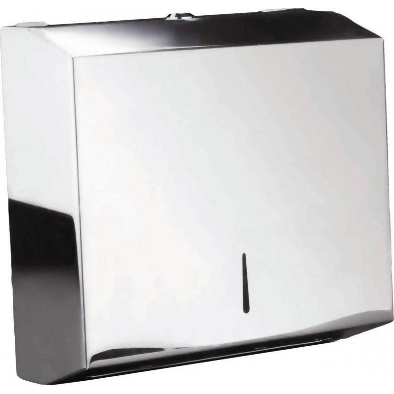 Dispensador papel toalla Z inox Brillo JVD Dispensadores Papel Toalla JVD JV899798