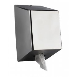 Dispensador Papel Mecha Inox Brillo JVD Dispensadores Rollo Secamanos JVD JVE4010SSB
