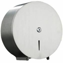 Portarrollos Acero Inox Satinado Jumbo JVD Dispensadores papel higiénico JVD JV899627