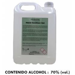 Gel hidroalcohólico garrafa 5 L Gel Hidroalcohólico ProAndre PRO-5L