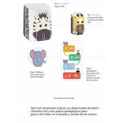 Pack Secamanos eléctrico infantil SupAir Promociones JVD PACK8111056KIDS