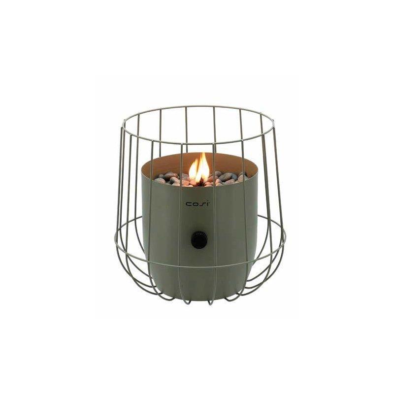 Fuego decorativo Basket Verde Oliva Fuegos de Jardín BUTSIR COSI0007