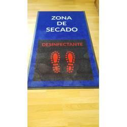 Alfombra Desinfección 90x150 cm Alfombras Prevención  PROTEC00