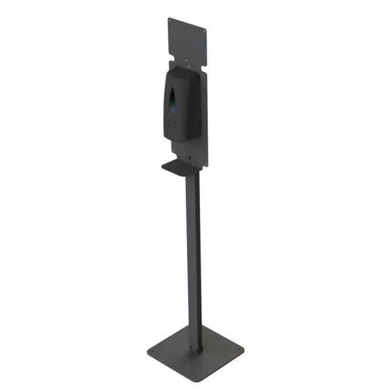 Totem Dispensador Automático Gel Negro Mate JVD Dispensadores Gel Hidroalcohólico JVD JV8441765TO