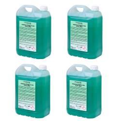 Gel hidroalcohólico Aloe Vera 4x5 L Gel Hidroalcohólico ProAndre PROAV-5L4U
