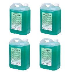 Gel hidroalcohólico Aloe Vera 4x5 L Gel Hidroalcoholico ProAndre PROAV-5L4U