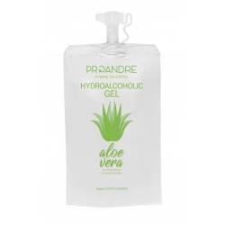 50 Mini Dosis 35 ml Gel hidroalcohólico Aloe Vera Gel Hidroalcoholico ProAndre PRO-DOYPACK50AV
