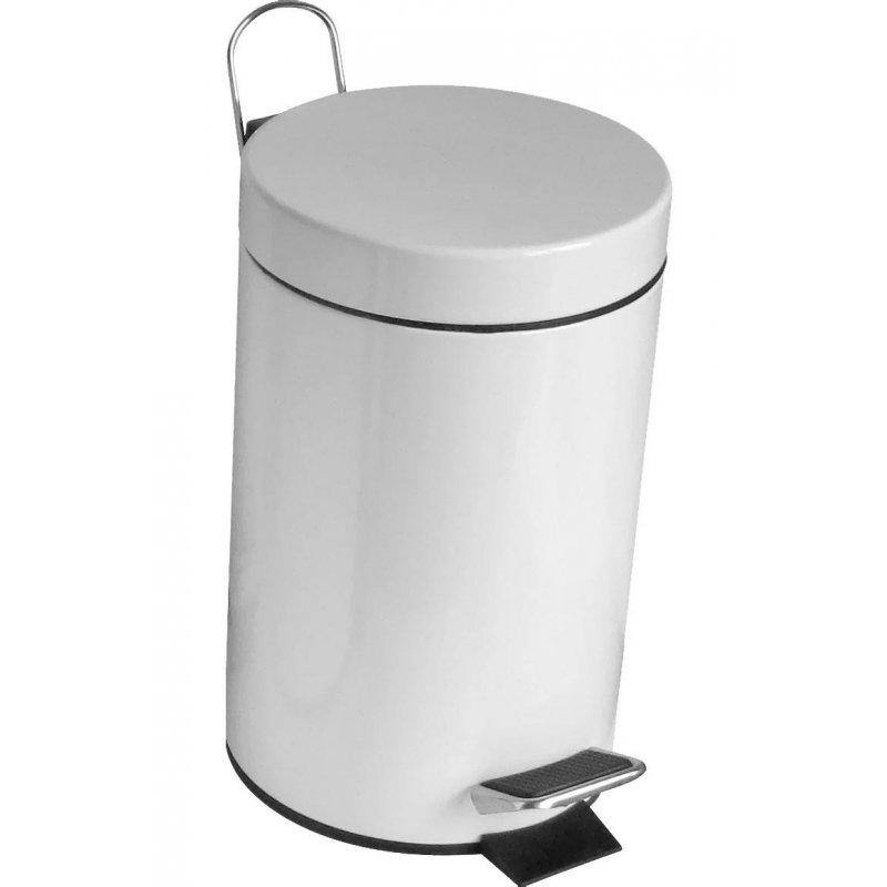 Papelera de baño Blanco 3 litros Papeleras Baño JAMI JMPP001ACW1