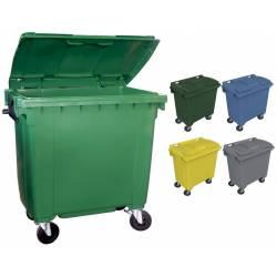 Contenedor de basura 1000 litros Contenedores Basura  PU1000