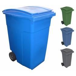 Contenedor de basura 360 litros Contenedores Basura  PU360
