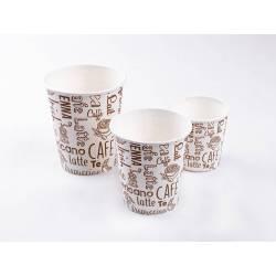 Vaso papel café 240cc Vasos Desechables  VP240