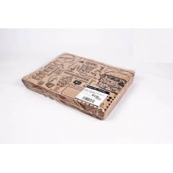 Mantel individual papel Eco Nature 30x40 Burguer Manteles y Servilletas Papel  PKD304040BG
