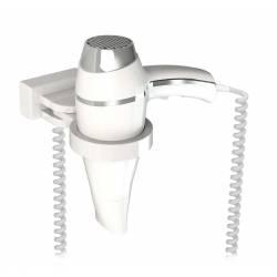 Secador de Pelo Alteo Blanco con soporte Secadores con soporte pared JVD JV8221627