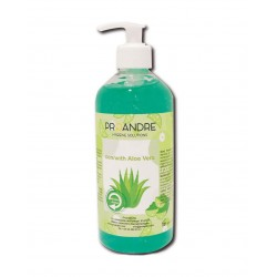 Gel hidroalcohólico Aloe Vera 500  ml Gel Hidroalcohólico ProAndre PROAV-500