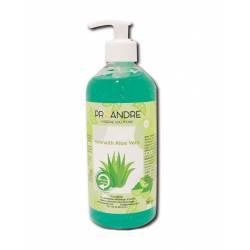 Pack 6 Unds Gel hidroalcohólico Aloe Vera 500ml Gel Hidroalcohólico ProAndre PROAV-506