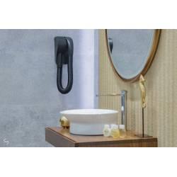Secador de pelo con tubo flexible Negro Secadores Pelo Hotel JVD JV8221769