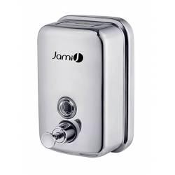 Dosificador jabón Inox brillo 500 ml Dispensadores Jabón JAMI JMDJ102AIB0