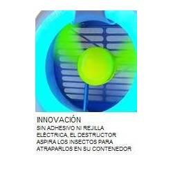 Matamoscas ecológico por aspiración JVD Destructores Insectos JVD JV8551360