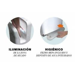 Secamanos eléctrico Alphadry Blanco Secamanos eléctrico JVD JV811905