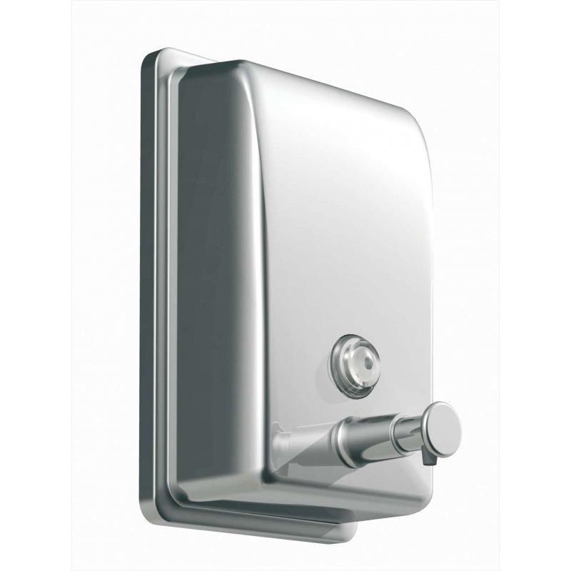 Dosificador jabón 850 ml. acero inox brillo JVD Dosificadores Jabón Gel JVD JV844254
