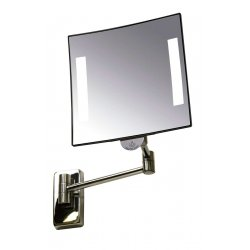 Espejo de aumento con luz Cuadrado Galaxy Espejos de Aumento JVD JV866768