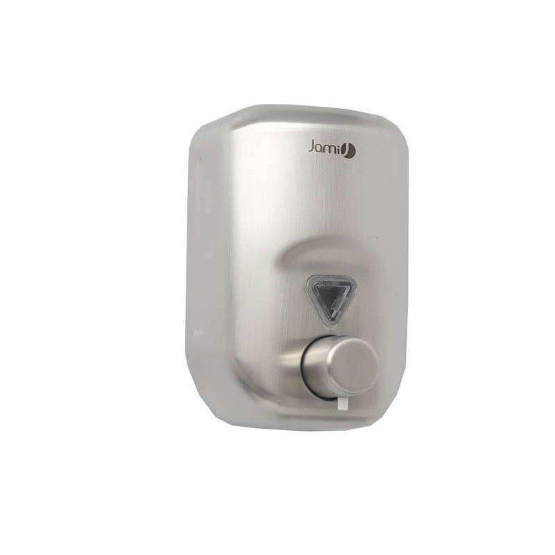 Dosificador jabón acero satinado 820 ml. Jami Dosificadores Jabón JAMI JMDJ138AIS0