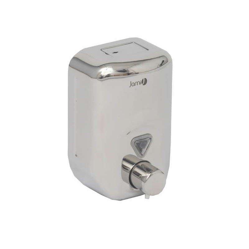 Dosificador jabón acero brillo 820 ml. Jami Dosificadores Jabón Gel JAMI JMDJ138AIB0