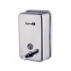 Dosificador de jabón vertical 1,2 L Inox Brillo Dispensadores Jabón JAMI JMDJ120AIB0