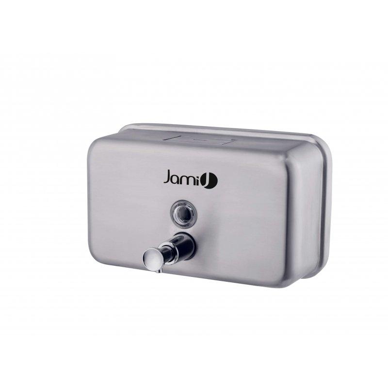 Dosificador de jabón horizontal 1,2 L satinado Jami Dosificadores Jabón JAMI JMDJ121AIS0