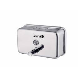 Dosificador de jabón 1,2 L. horizontal Inox Brillo Dispensadores Jabón JAMI JMDJ121AIB0