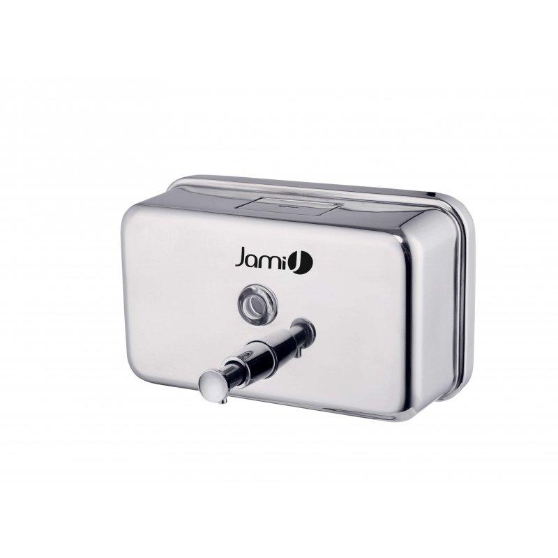 Dosificador de jabón brillo horizontal 1,2 L Jami Dispensadores Jabón JAMI JMDJ121AIB0