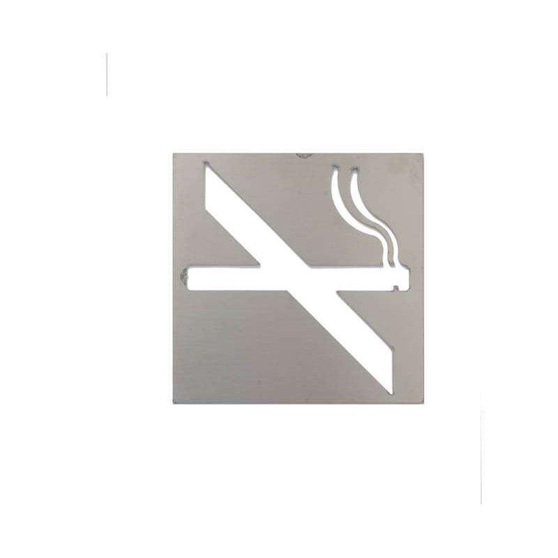 Pictograma prohibido fumar satinado Jami Pictogramas JAMI JMAB090AIS1