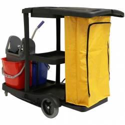 Carro de limpieza profesional Duo Carros de limpieza  PI8180C