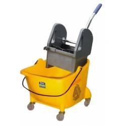 Cubo de fregar con prensa y ruedas 24L Mini THOR Carros de limpieza  BP8079