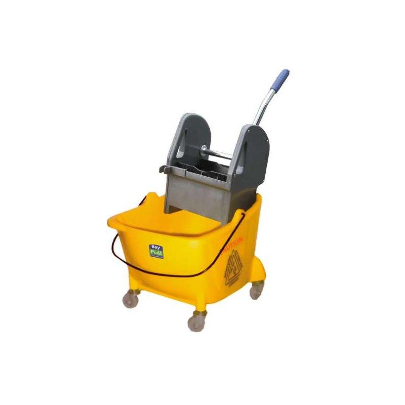 Cubo de fregar con prensa y ruedas 24L Mini THOR Carros de limpieza  PI8079
