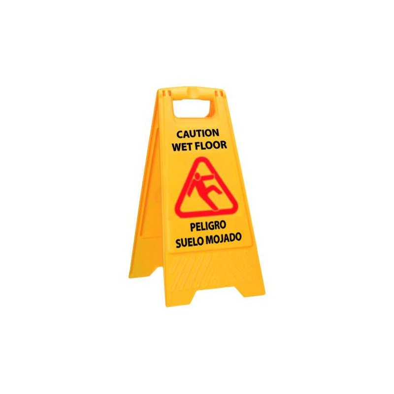 Señal de aviso de suelo mojado Carros de limpieza  BP3042