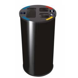 Papelera de reciclaje 60L...