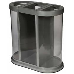 Papelera de reciclaje 150L...